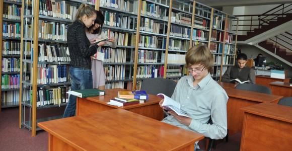 Бібліотека УКУ. Фото з сайту http://ucu.edu.ua